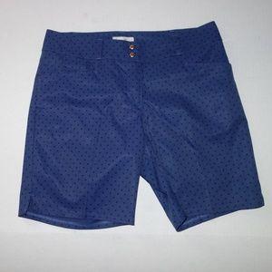 Adidas Women Diamond Printed Shorts 4 Raw blue AE9